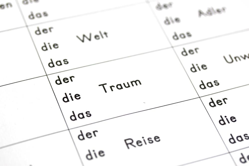 """der, die, das (Arbeitsblatt) """"Tafiti und die Reise ans Ende der Welt ..."""