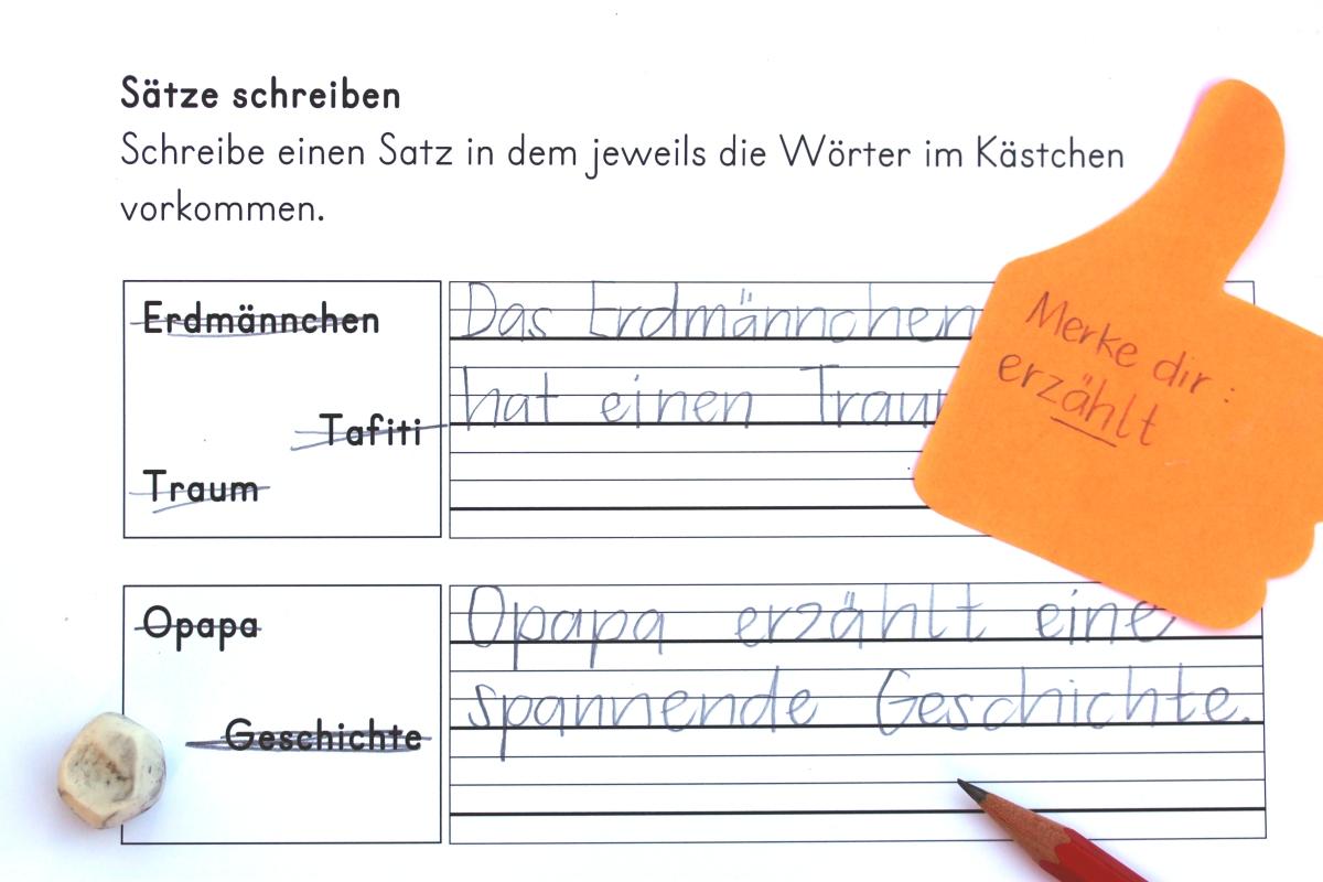 """Sätze schreiben """"Tafiti und die Reise ans Ende der Welt"""" – buchidee"""