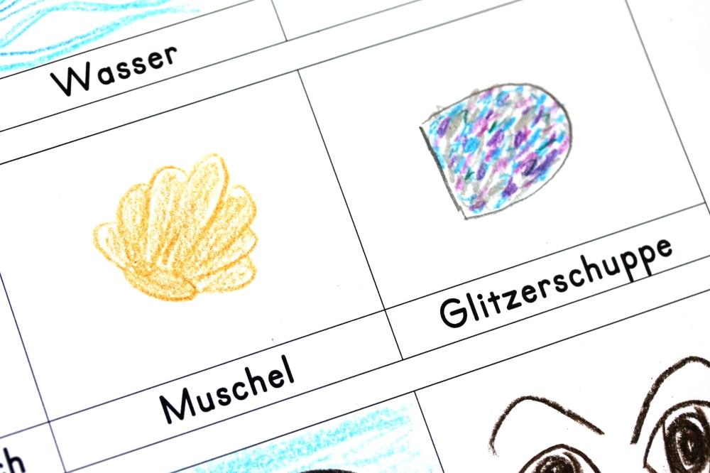 """Lesen und malen """"Der Regenbogenfisch"""" – buchidee"""